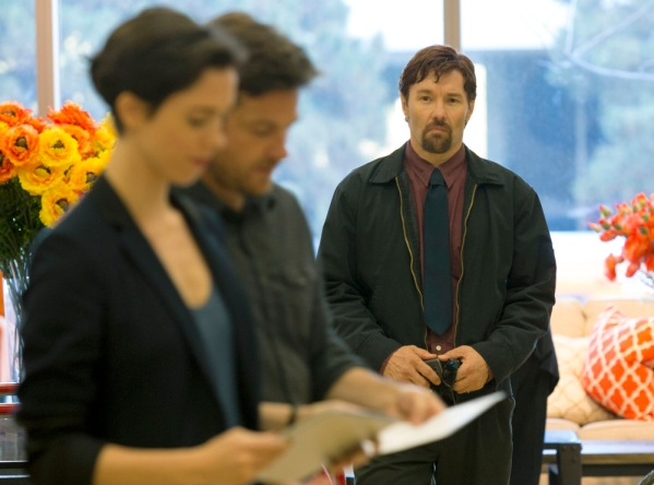 "Simon (Jason Bateman) and Robyn (Rebecca Hall) are about to face their worst nightmare in Joel Edgerton's directorial debut ""The Gift"""